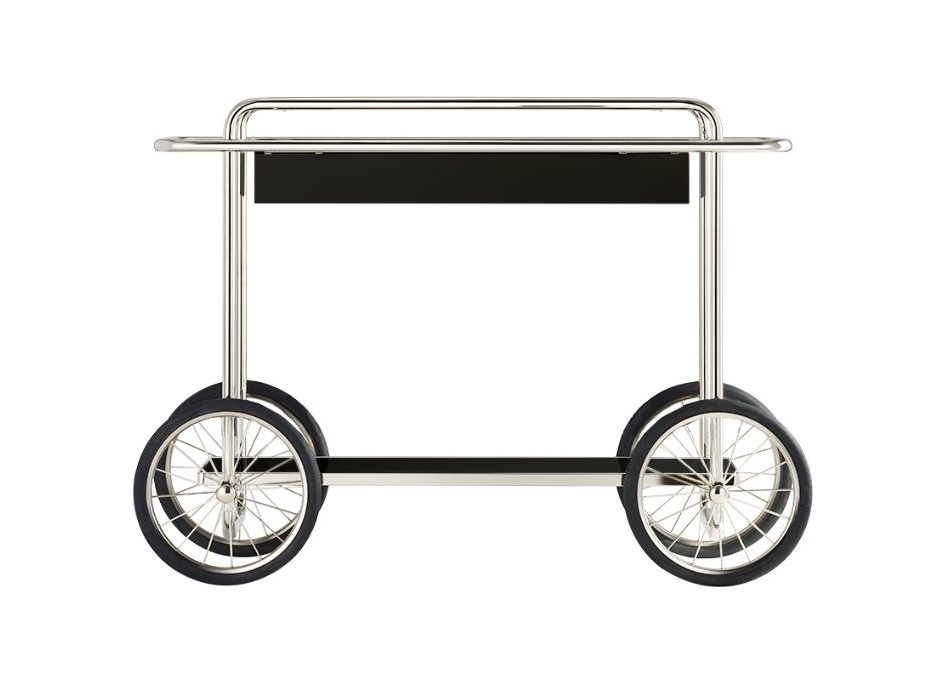 Table roulante Bauhaus chez Studio19 -Tecta